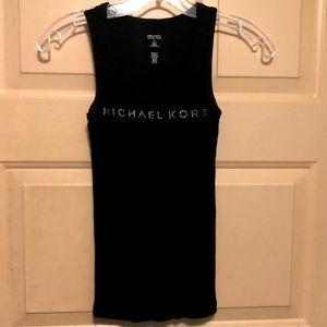 Michael Kors Women's Long Black Tank Top